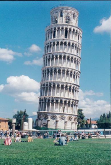 torre de pizza itália